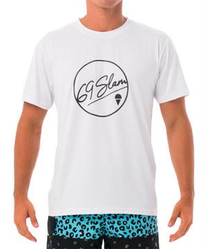 【20SS 新作】【69SLAM】水陸両用 ロックスラム メンズ ラッシュ 69 BUBBLE Tシャツ UVカット / MTZUBE-WH