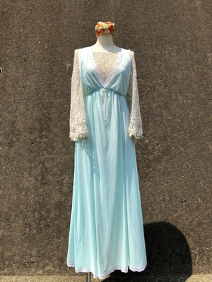 skyblue night dress