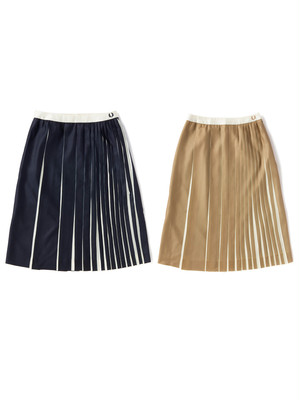 FRED PERRY(フレッドペリー) Pleated Skirt F8365