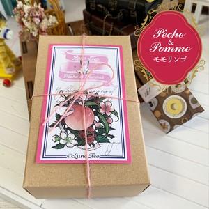 紅茶:Pêche et Pommes(モモリンゴ) in paper box