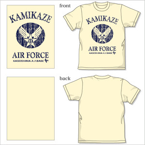 [薩摩Tシャツ] KAMIKAZE AIR FORCE