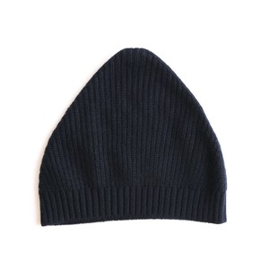 mature ha./knit cap dark navy