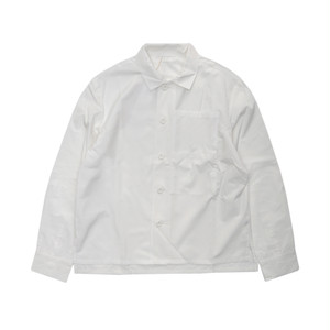 SEEALL BIG POCKET SHIRT(WHITE)
