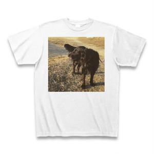 フラットコーテッドレトリバーTシャツ2