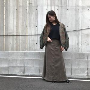 anana/コーデュロイロングスカート