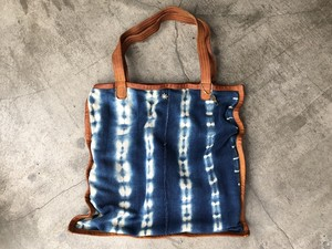 HAND LIGHT African Indigo Tote Bag-2