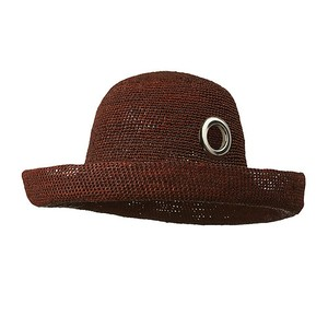 EYELET CLOCHE/brown