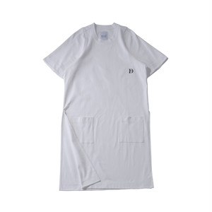 TDT18aw S/S Long T-Shirts (White)