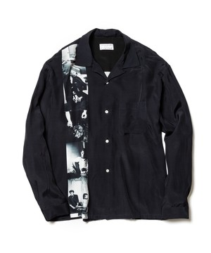 L/S SHIRTS  BLACK  19AW-FS×LC-02