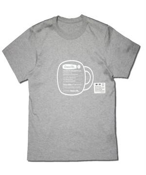 ロゴTシャツ(Choose life)/グレー