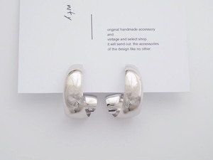 【nity】light silver_ring ピアス or イヤリング TP-002 E-002