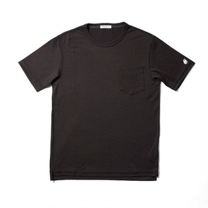 WOOL-BASE-Tshirt ブラウン