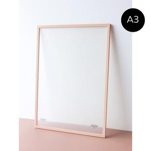 MOEBE - A3 ムーべ アートフレーム - Pale Rose / Light Grey