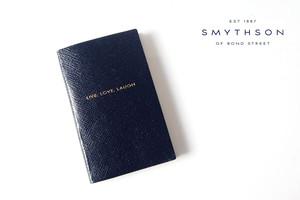スマイソン|SMYTHSON|パナマノート live love laugh ネイビー PANAMA