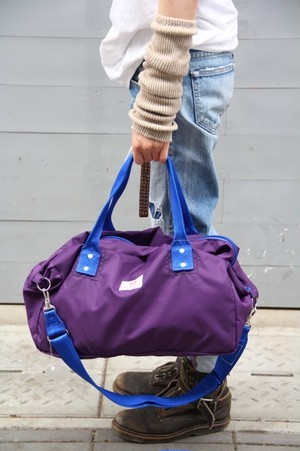 "BAG'n'NOUN/ NYLON MUFFIN ""MINI/VIOLET ※STRAP別売"
