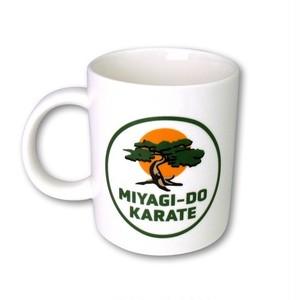 コブラ会 Cobra Kai ミヤギ道カラテロゴ マグカップ