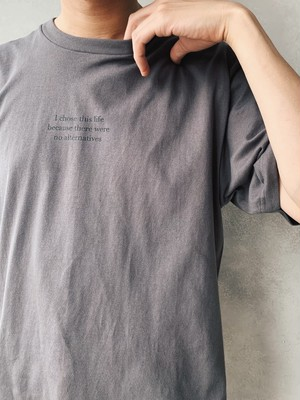 COVID-19 【CHACOAL】charity T shirt  5.6oz【次回発注日:10/31】