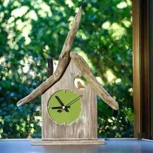 【送料無料】 とりっこハウス壁掛け時計、置き時計-13