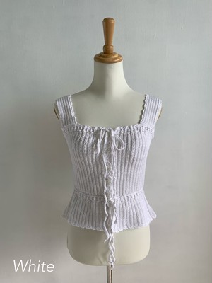 Bilitis dix-sept ans (ビリティス・ディセッタン)    Knit Camisole 2019SS