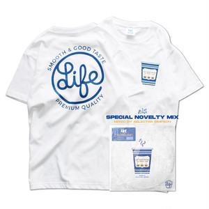 LIFE COFFEE LOGO Tee with MIXCD SET / LIFEdsgn