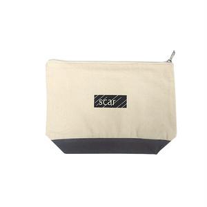 scar /////// BLACKBOX DAILY POUCH (Medium) (Natural / Grey)