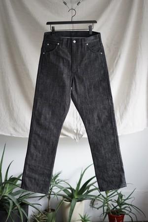 TUKI - cowboy pants black denim