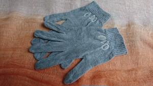 【麻炭染め】手袋~レディース~