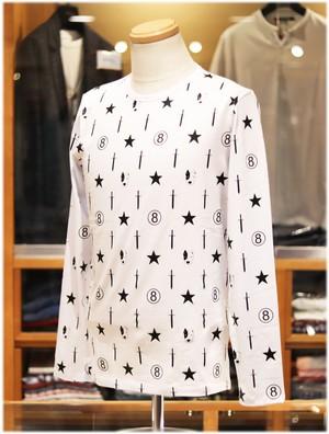 USUALIS collection           ウザリスコレクション  - Italy -     クルーネック 長袖Tシャツ