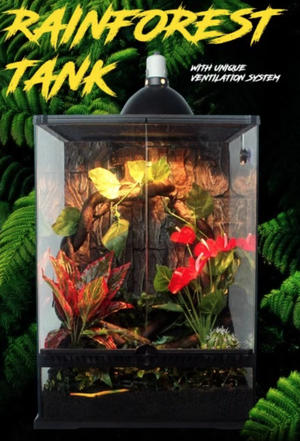 爬虫類ケージ4560(新品)NOMOYPET RAINFORESTTANK