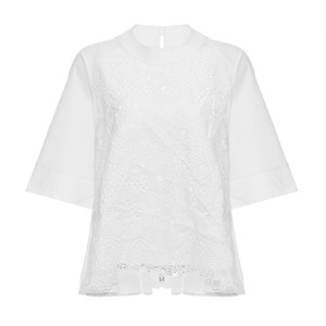 RIMI&Co. SELECT  フロントレースブラウス 2Color<Lace Blouse>