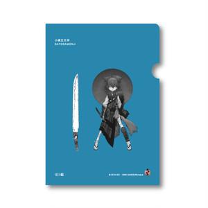 クリアファイル【小夜左文字】studio仕組×刀剣乱舞-ONLINE-コラボ