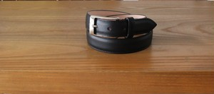 Whitehouse Cox DRESS BELT BLACK