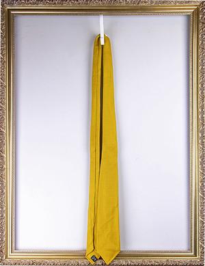 Tie Your Tie Silk Fresco Tie -Yellow タイユアタイ フレスコタイ -イエロー