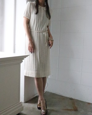 70's summer knit dress