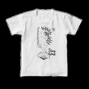 キッズNIRAIKANAIステイホームTシャツ