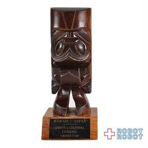 ティキ TIKI コアウッド 木彫り ハワイ日本交流基金 ハワイアン