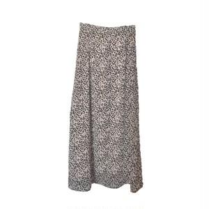 【即日発送】レオパード柄ロングスカート