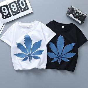 【トップス】韓国系ラウンドネックプリントプルオーバーTシャツ29495906