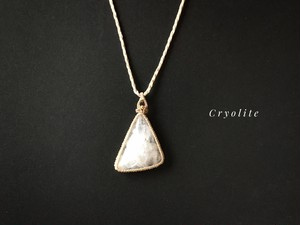 クリオライト macrame necklace
