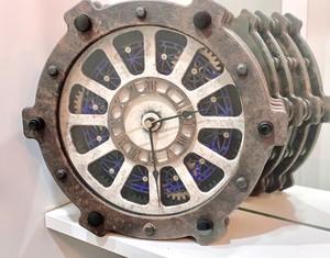 機械都市の時計