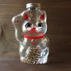 廣田硝子 SM-2S 招き猫 ガラス 小