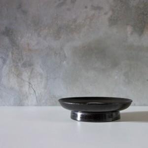 黒漆塗 台皿