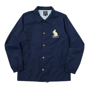 WE'RE NOT OUT OF THE WOOD COACHES JACKET (NAVY) [TH-17AW-081]