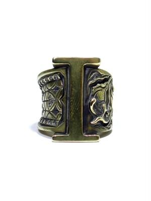 alphabet ring#I (Brass ・ 真鍮) -アルファベットモチーフ リングI-