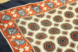 UMBERTO FORNARI Neckerchief The fine pattern