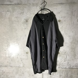 [used] two big lined mode half shirt