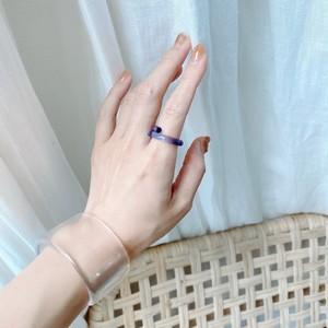 StackAcri ring/Blue
