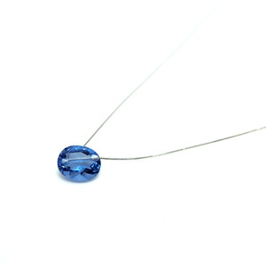 Holey stone Necklace Color change Flourite - Pt900