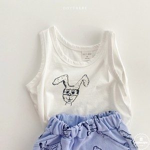 «sold out»  Rabbit sleeveless 2colors うさぎノースリーブ