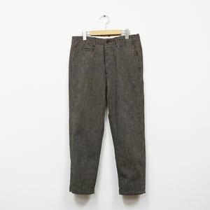 WORK TROUSERS (COTTON SHARKSKIN)